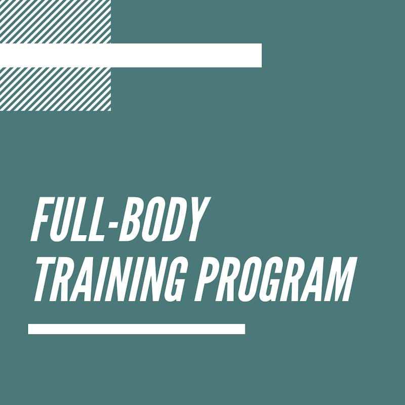 Full-Body Workout Plan